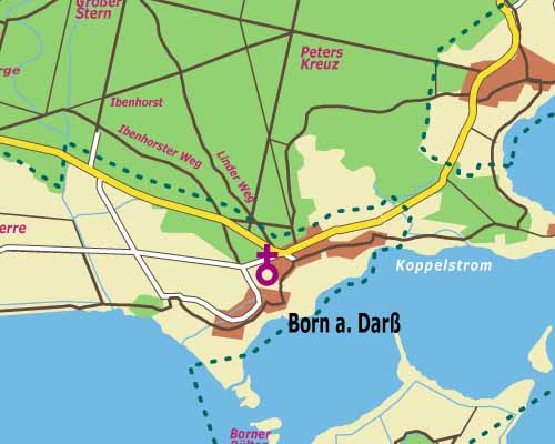 Fischland Darß Zingst Karte.Urlaub Auf Der Ostseehalbinsel Fischland Darß Zingst Oder An Den